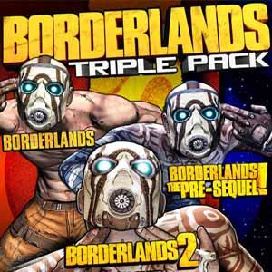 Borderlands Triple Pack Digital Download Price Comparison