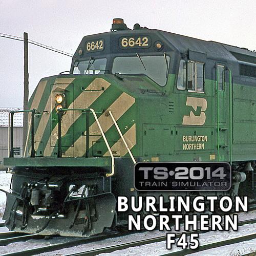 Train Simulator Burlington Northern F45