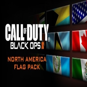 Call of Duty Black Ops 2 North American Flags of the World Calling Card Pack