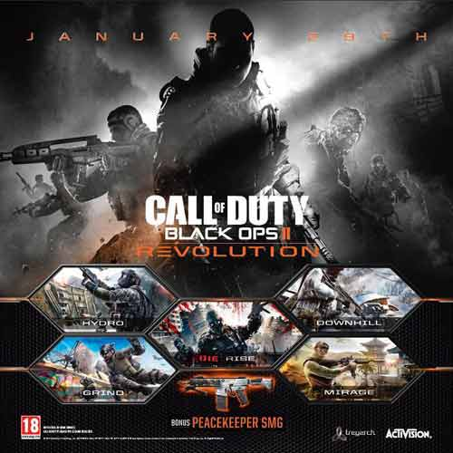 COD Black Ops 2 dlc Revolution Digital Download Price Comparison