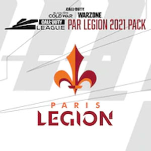 Call of Duty League Paris Legion Pack 2021