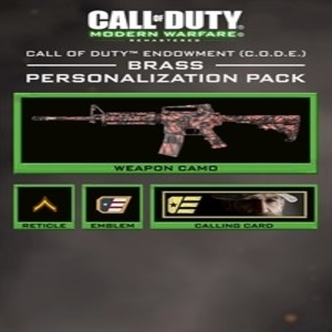 Call of Duty Modern Warfare Remastered C.O.D.E. Brass Pack