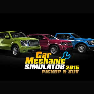 Car Mechanic Simulator 2015 PickUp and SUV Digital Download Price Comparison