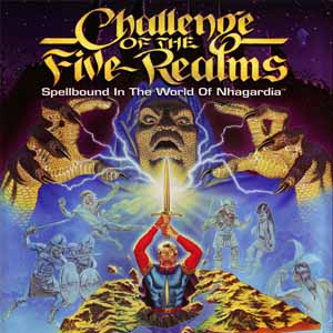 Challenge of the Five Realms Spellbound in the World of Nhagardia Digital Download Price Comparison