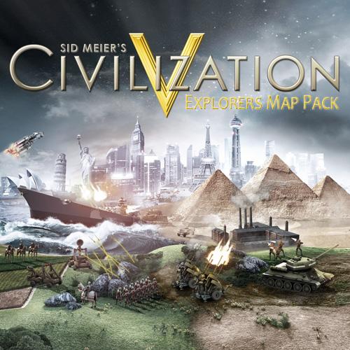 Civilization 5 Explorers Map Pack Digital Download Price Comparison