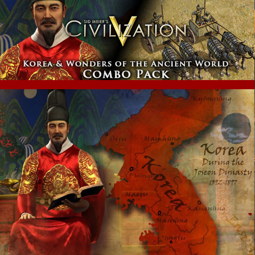 Civilization 5 Korea and Wonders of the Ancient World Combo Pack Digital Download Price Comparison