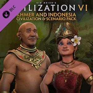 Civilization 6 Khmer and Indonesia Civilization and Scenario Pack