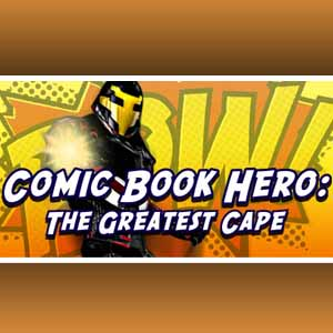 Comic Book Hero The Greatest Cape
