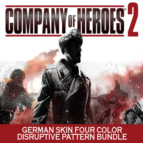 Company of Heroes 2 German Skin Four Color Disruptive Pattern Bundle Digital Download Price Comparison