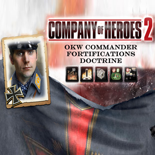 Company Of Heroes 2 OKW Commander Fortifications Doctrine Digital Download Price Comparison