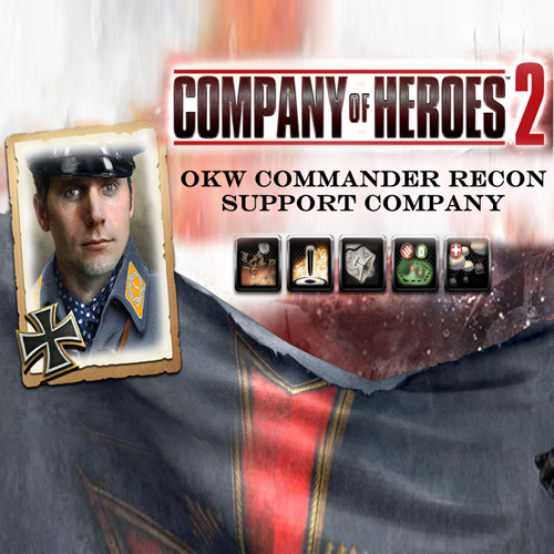 Company Of Heroes 2 OKW Commander Recon Support Company Digital Download Price Comparison