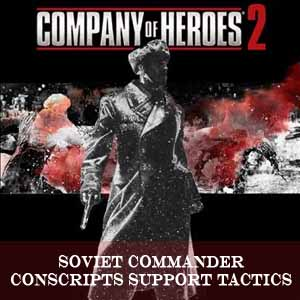 Company of Heroes 2 Soviet Commander Conscripts Support Tactics Digital Download Price Comparison