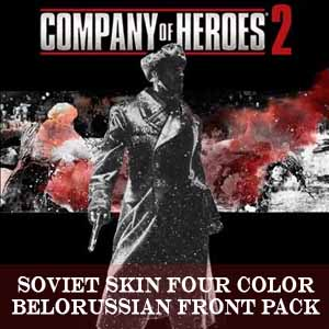 Company of Heroes 2 Soviet Skin Four Color Belorussian Front Pack Digital Download Price Comparison
