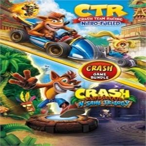 Crash Bandicoot Bundle  N. Sane Trilogy Plus CTR Nitro-Fueled
