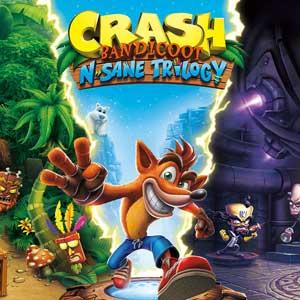 Crash Bandicoot N Sane Trilogy Nintendo Switch Digital & Box Price Comparison