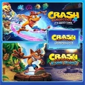 Crash Bandicoot Quadrilogy Bundle
