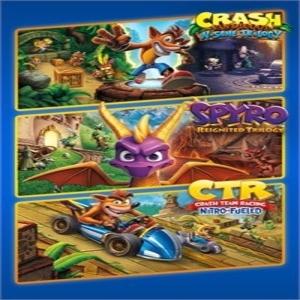 Crash Plus Spyro Triple Play Bundle