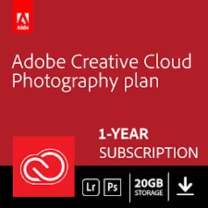Creative Cloud Photography Plan - 20 GB