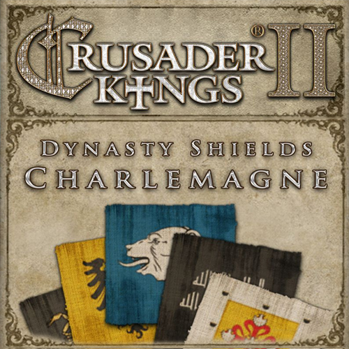 Crusader Kings 2 Dynasty Shields Charlemagne