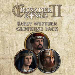 Crusader Kings 2 Early Western Clothing Pack Digital Download Price Comparison