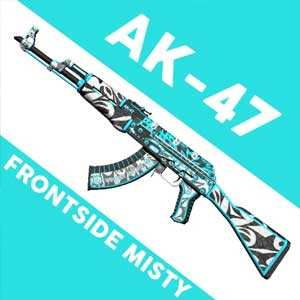 CSGO AK47 Skin Frontside Misty Digital Download Price Comparison