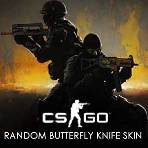 CSGO Random Butterfly Knife Skin Digital Download Price Comparison