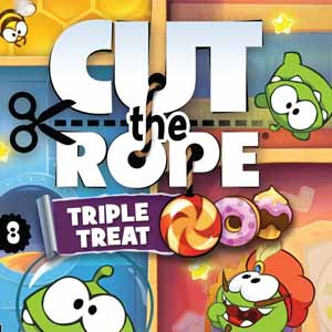 Buy Cut the Rope Triple Treat Nintendo 3DS Download Code Compare Prices