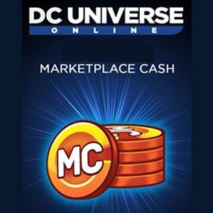 DC Universe Online Marketplace Cash
