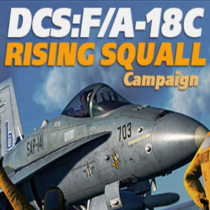 DCS F/A-18C Hornet Rising Squall Campaign