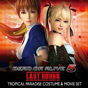 DEAD OR ALIVE 5 Last Round Tropical Paradise Costume & Movie Set