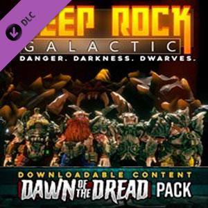 Deep Rock Galactic Dawn of the Dread Pack