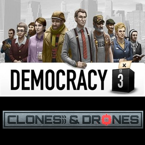 Democracy 3 Clones and Drones Digital Download Price Comparison