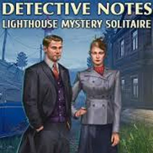 Detective notes Lighthouse Mystery Solitaire