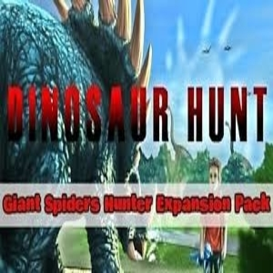 Dinosaur Hunt Giant Spiders Hunter Expansion Pack