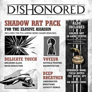Dishonored Shadow Rat Pack Digital Download Price Comparison