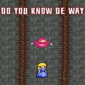 Do you know de way