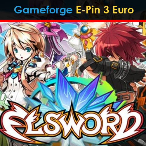 Elsword Gameforge E-Pin 3 Euro Gamecard Code Price Comparison
