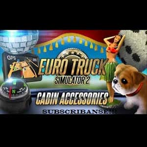 Euro Truck Simulator 2 Cabin Accessories Digital Download Price Comparison