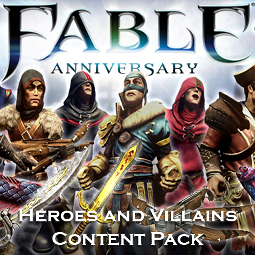 Fable Anniversary Heroes and Villains Content Pack Digital Download Price Comparison