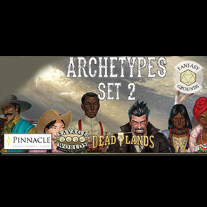 Fantasy Grounds Deadlands The Weird West Archetypes 02 Digital Download Price Comparison