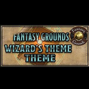Fantasy Grounds FG Theme Wizard's Desk