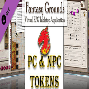 Fantasy Grounds Gaming Tokens and Portraits Pack 3 PC's and NPCs