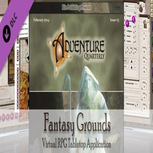 Fantasy Grounds PFRPG Rite Publishing's Adventure Quarterly 5