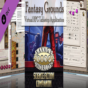 Fantasy Grounds Savage Worlds Science Fiction Companion