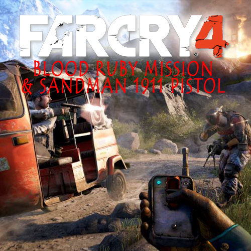 Far Cry 4 Blood Ruby Mission & Sandman 1911 Pistol Digital Download Price Comparison