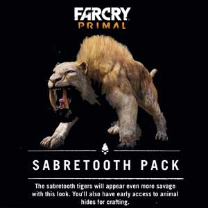 Far Cry Primal Sabretooth Pack Digital Download Price Comparison
