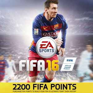 FIFA 16 2200 FUT Points Gamecard Code Price Comparison