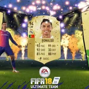 FIFA 18 Ultimate Team Pack Ps4 Digital & Box Price Comparison