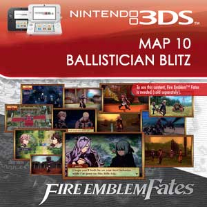 Buy Fire Emblem Fates Map 10 Ballistician Blitz Nintendo 3DS Download Code Compare Prices