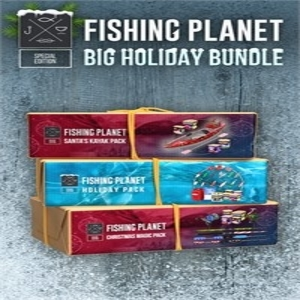 Fishing Planet Big Holiday Bundle Ps4 Price Comparison